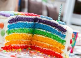 Torte bunt